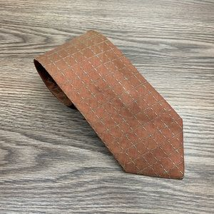 Ermenegildo Zegna Copper w/ Green Check Tie